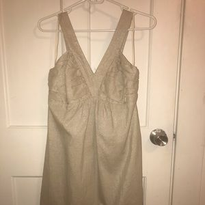 Carole Little gold dress size 4